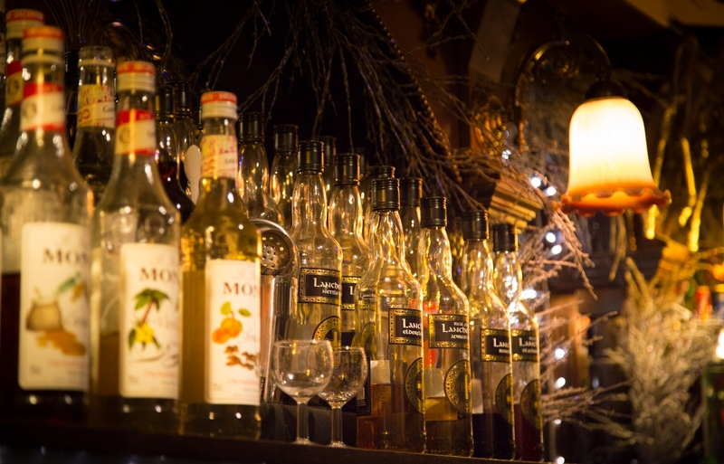There's no shortage of exotic wines and spirits to try