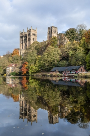 Durham cathedral, fulling mill and boathouses